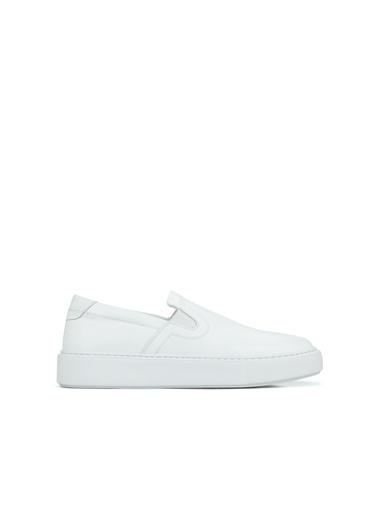 Divarese Divarese 5025081 Düz Erkek Ayakkabı Beyaz